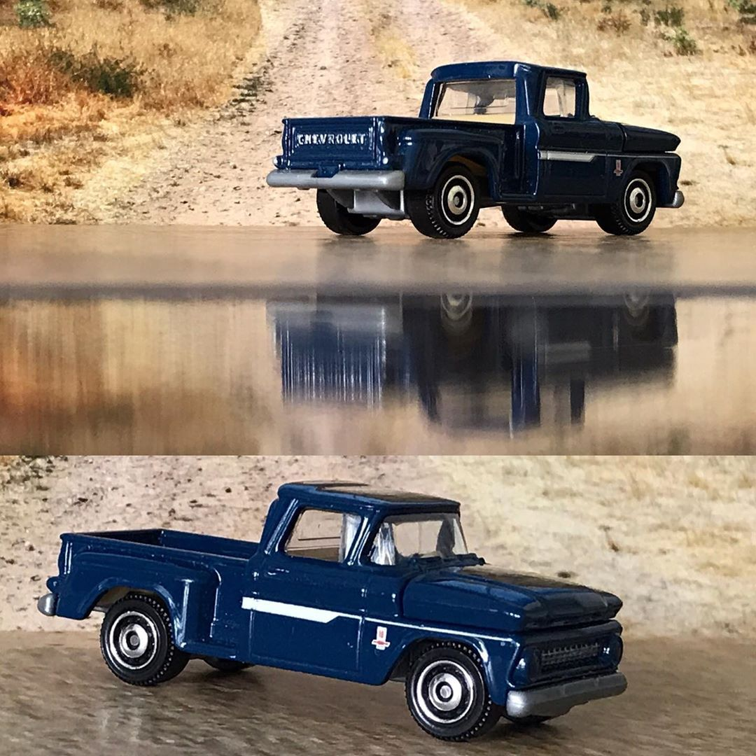 #Chevrolet #Chevy #1963 #C10 #matchbox #blue #matchbox #matchboxcollector #matchboxcars #diecast #threeinches #3inches #164scale #toyscars #tinnycars #toys #toyscar  #hotwheels #hotwheelspics #toyspics #toyspictures