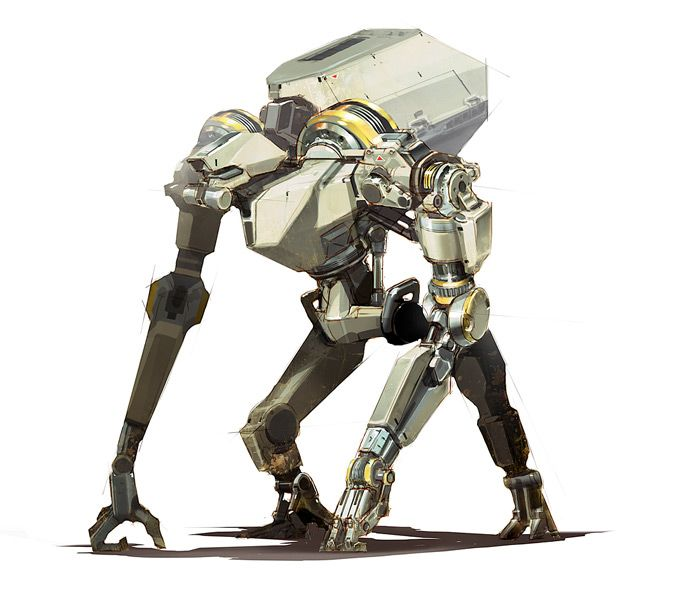 40 Captivating Robot Concepts And Illustrations Robot