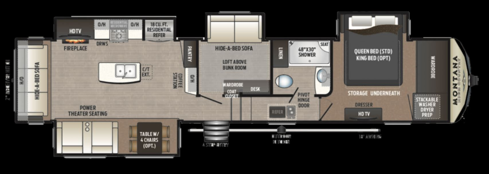 2018 Keystone Montana High Country 385br Campers For Sale Fifth