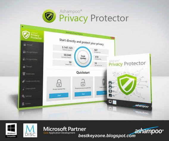Descarga Ashampoo Privacy Protector
