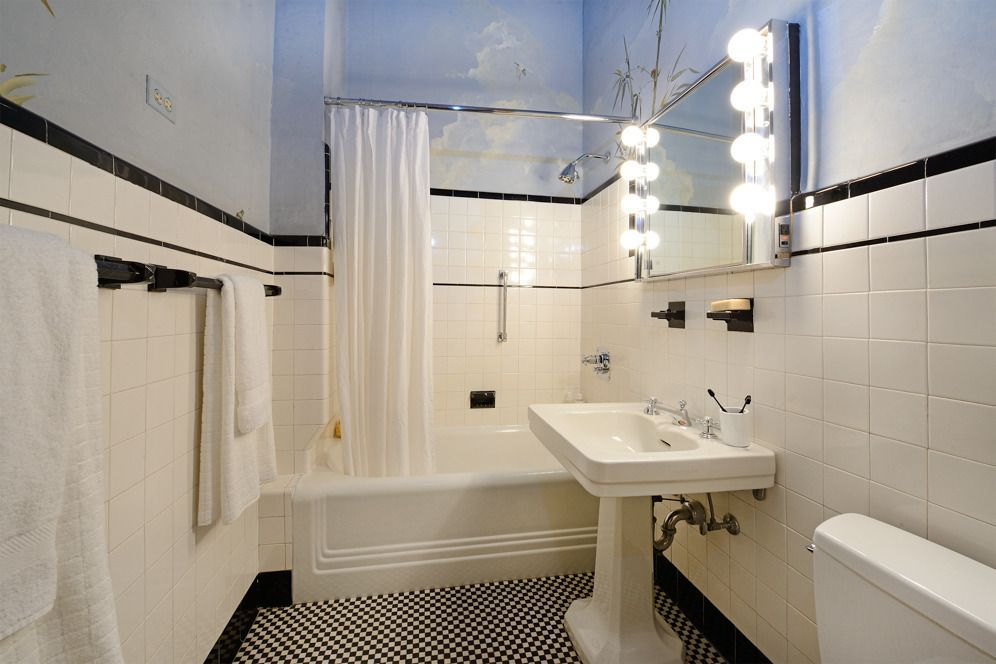 Newly Listed 3 6m Residence At The Dakota Appears Untouched By Time 6sqft Bathroom Renovation Bathroom Colors Nyc Apartment