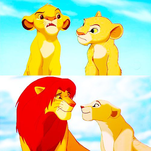 Simba + Nala | The Lion King | Pinterest | Disney, Lion ...