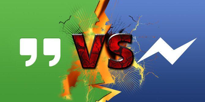 Android Messaging App Faceoff Google Hangouts vs
