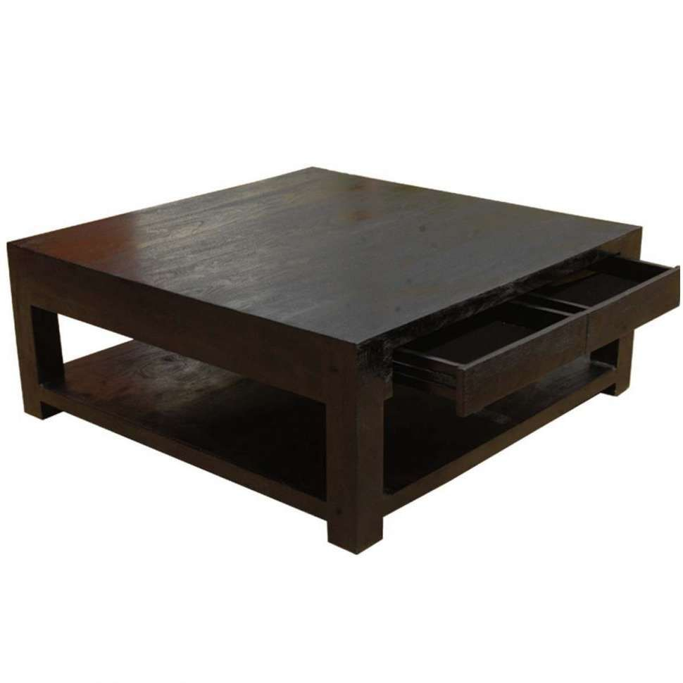 Dark Wood Square Coffee Table Download 2017 Square Dark Wood Coffee Table Pertaining To Coffe Dark Wood Coffee Table Coffee Table Wood Square Wood Coffee Table [ 970 x 970 Pixel ]