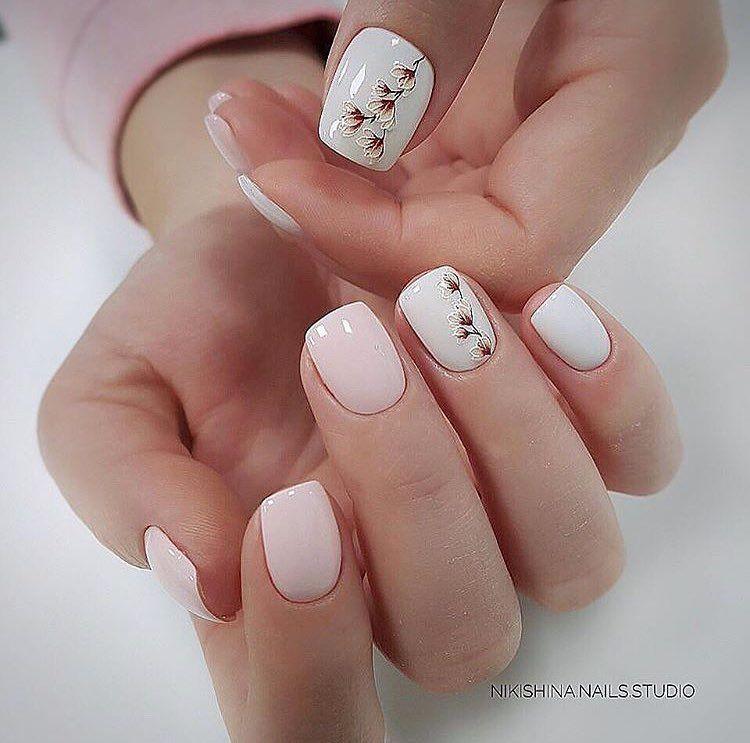 Natural nails art   Nails   Pinterest   Natural nail art and Natural ...