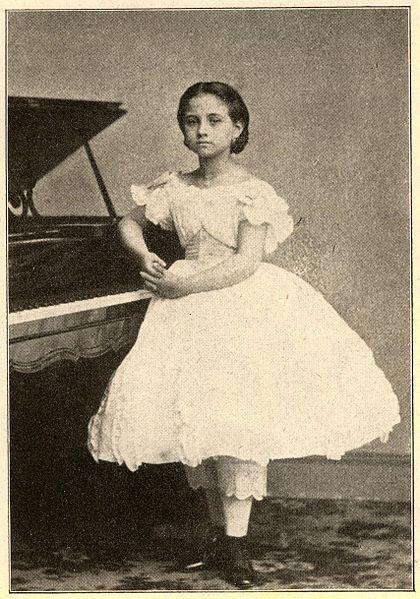 #Mujeres de #Venezuela: María Teresa Carreño García: pianista, compositora y cantante. #DíaInternacionalDeLaMujer