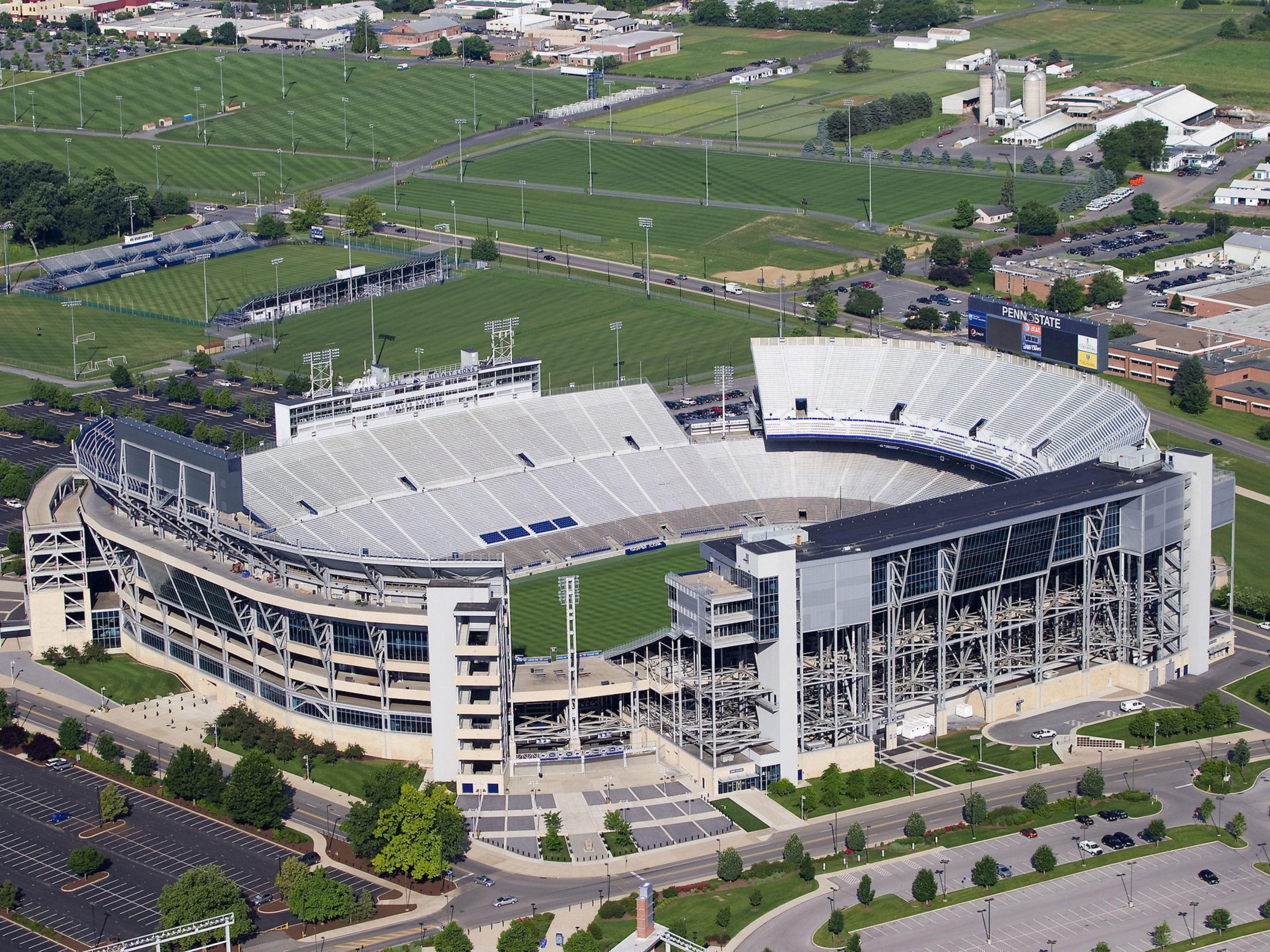 Beaver Stadium Pennsylvania New Jersey Usa Beaver Stadium Stadium Football Stadiums