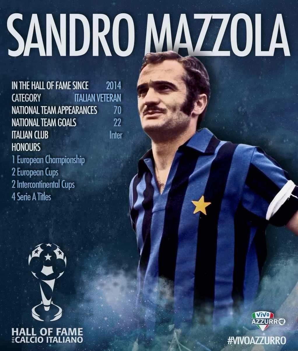 Sandro Mazzola Calciatori Pinterest