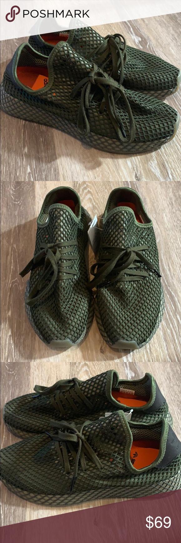 9d0a286b16ebe Adidas Originals Deerupt Runner Mens Lifestyle Adidas Originals Deerupt  Runner Mens Lifestyle Sneaker B41771 Size 8.5 Never worn just missing  original box! ...