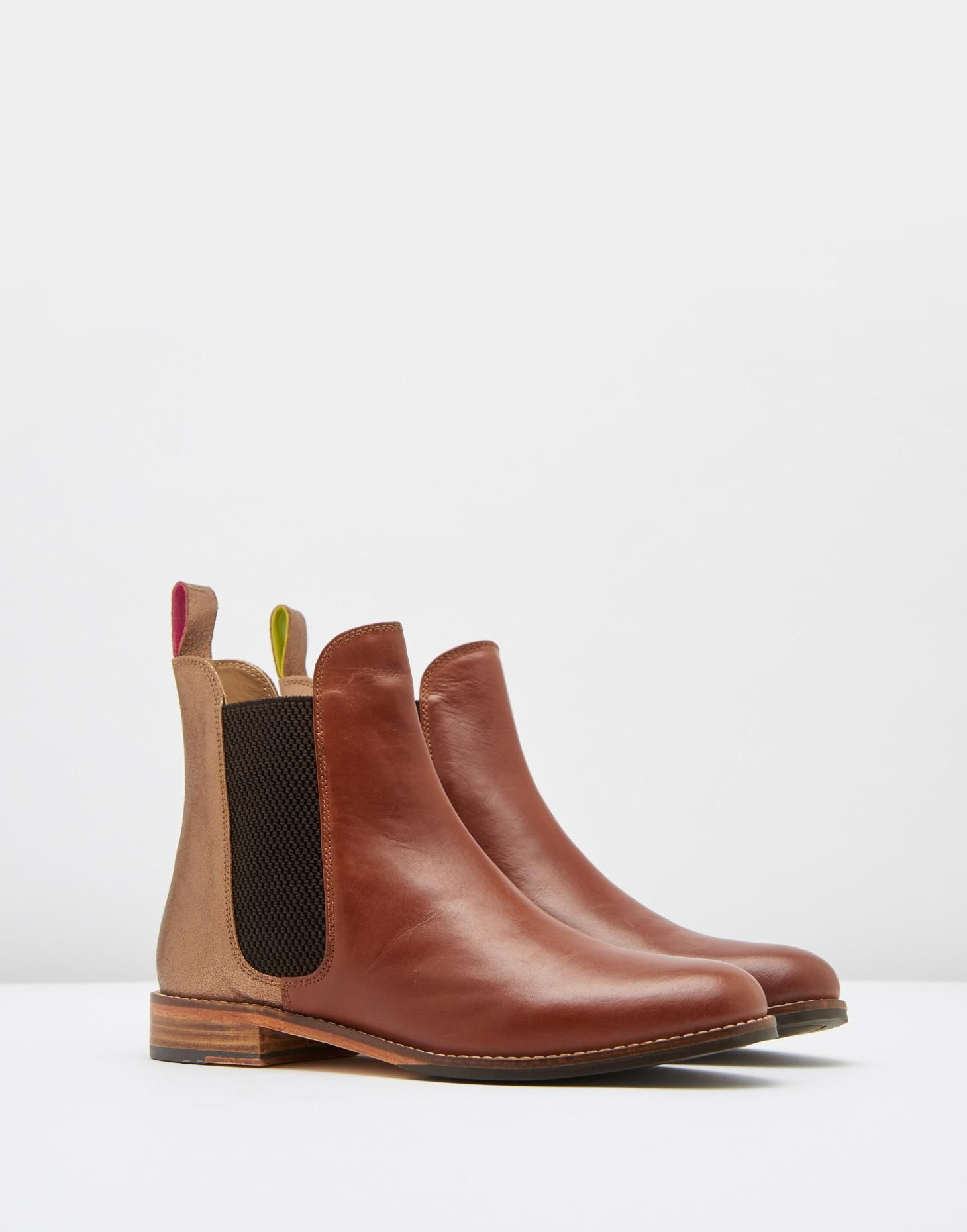 b63ea194f6a9 Westbourne Bronze Leather Chelsea Boots