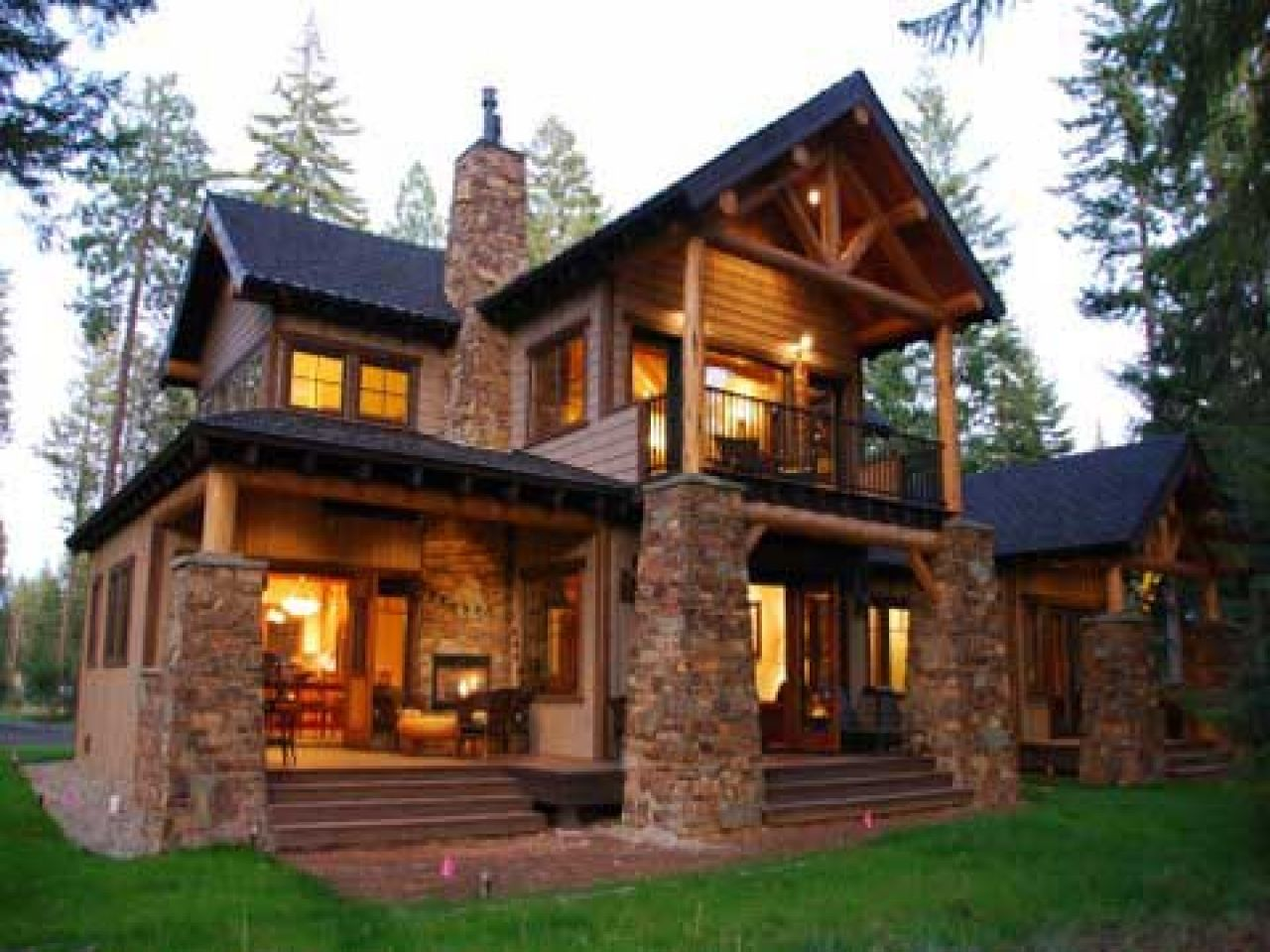 mountain homes Colorado Style Homes Mountain Lodge Style