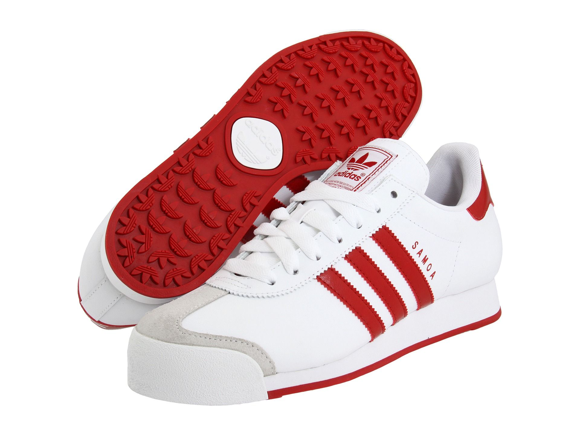 f4257ee6bcf5d3 adidas Originals Samoa White University Red University Red - Zappos.com  Free Shipping BOTH Ways