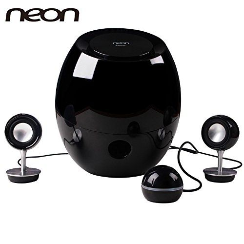 Neon Electronic Multimedia Bluetooth Computer Video Game Speaker Bts662 37 With Outstanding Design One Subwoofer And Two Tweeter Speaker For Sale Tweeter Speaker Best Portable Bluetooth Speaker Multimedia Speakers