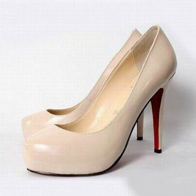 ad30866586d Christian Louboutin Decollete Pumps Outlet Rice White | Christian ...