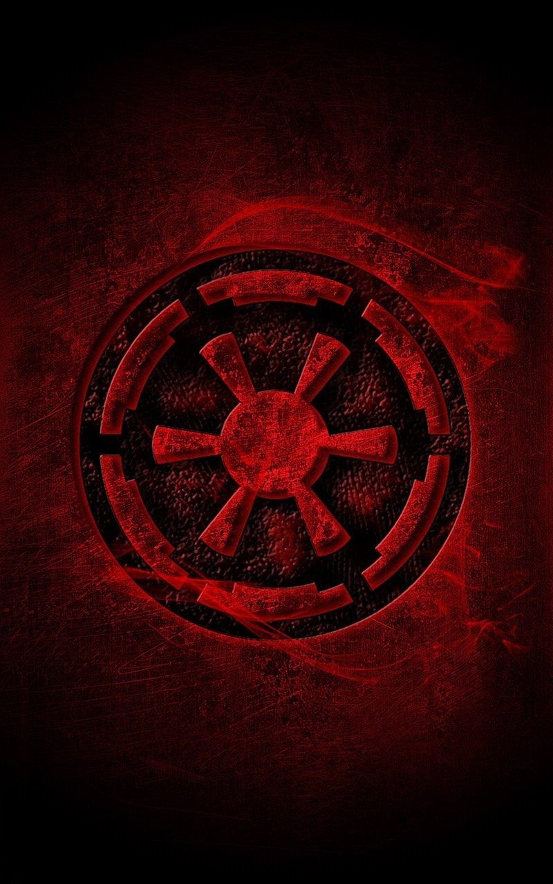 Star Wars Galactic Empire Logo Wallpaper Iphone Best Iphone Wallpaper Tapeten Sammlung