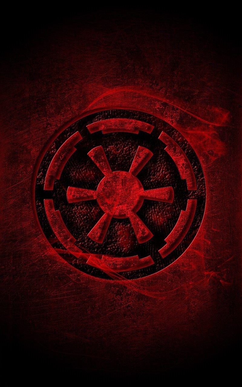 Pin By Star Wars Geek On Star Wars Galaktisches Imperium Empire Logo Star Wars Empire Logo Star Wars Wallpaper
