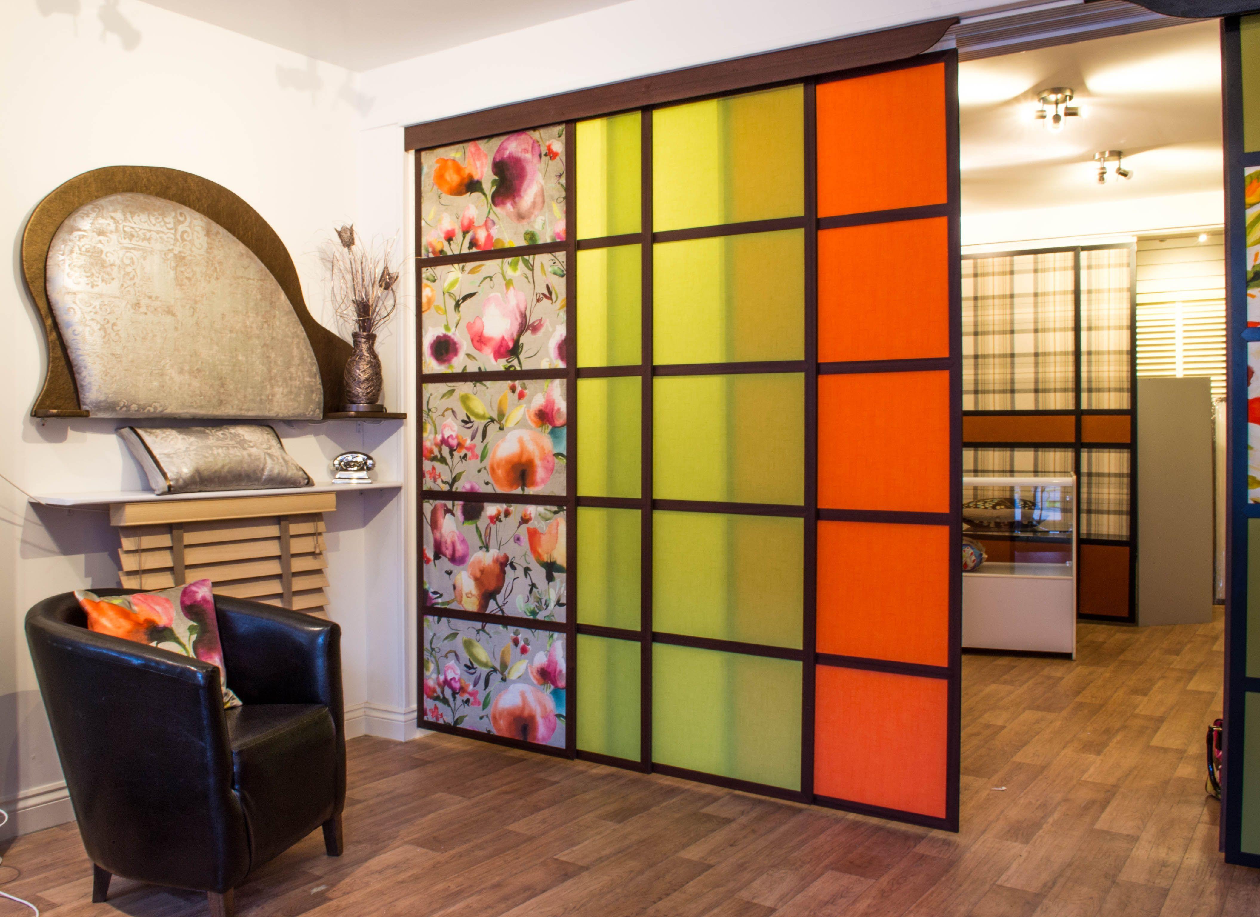 Japanese sliding panels shoji panels blinds supplied - Puertas shoji ...