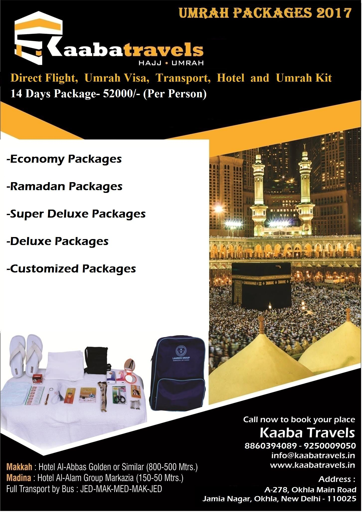Umrah Banner: The Best Hajj & Umrah And Packages In Delhi NCR, #Umrah