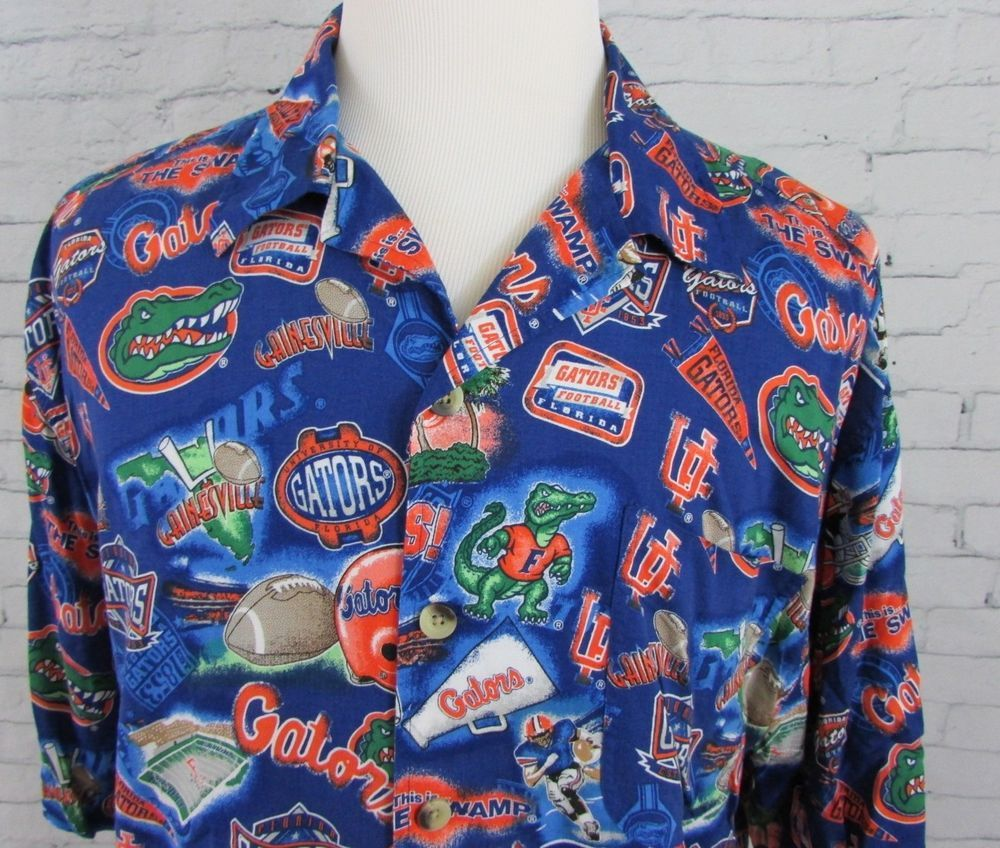 university of florida gators button up shirt