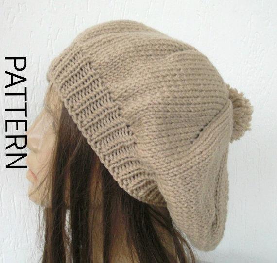 Instant Download Knit Hat Pattern Hat Digital Knitting by Ebruk ...