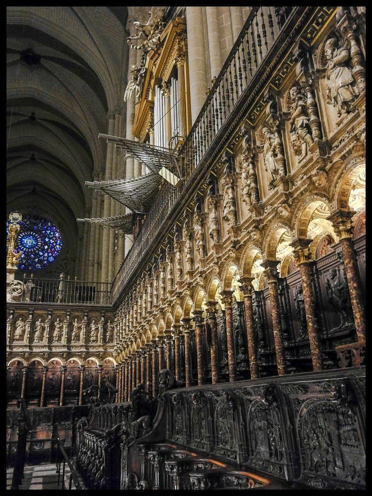 Sillería Del Coro Catedral De Toledo Choir Stalls Toledo Catedral Catedral Fotos Toledo