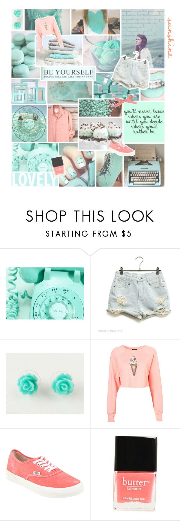 """~ My Oh My ~"" by colours-of-the-wind ❤ liked on Polyvore featuring Tiffany & Co., Vans, Butter London, vintage, women's clothing, women's fashion, women, female, woman and misses"