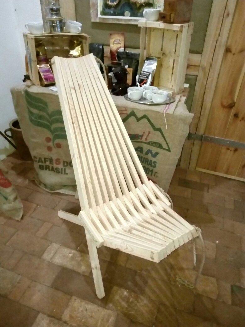 Liegestuhl Holz Und Hanfseil Liegestuhl Stuhle Deko