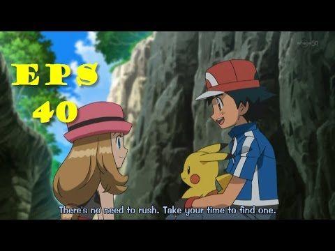 ポケットモンスター X・Y   Pokemon X and Y Episode 40   Serena VS Sana  