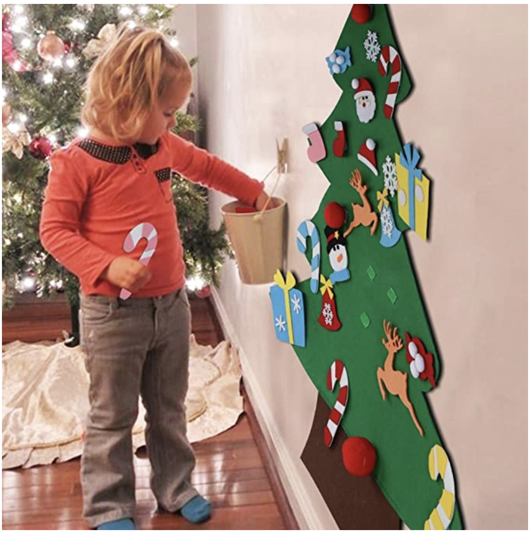 Diy Felt Tree Spare Ornaments Bundle Coolcoolly In 2020 Diy Felt Christmas Tree Christmas Tree Kit Christmas Trees For Kids