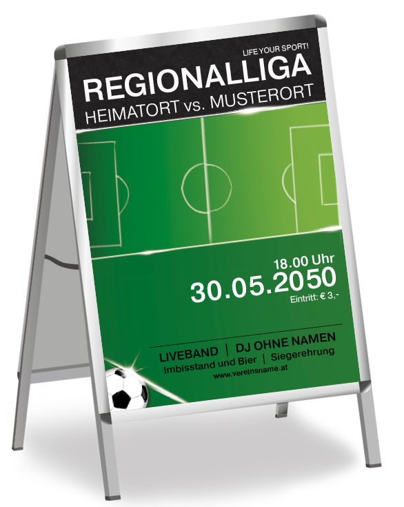 Plakate Mit Gratis Vorlagen Rund Ums Thema Sport Nutzen Spielfeld Fussball Sportevent Spiel Vorlagen Plakat Fussball Vorlagen