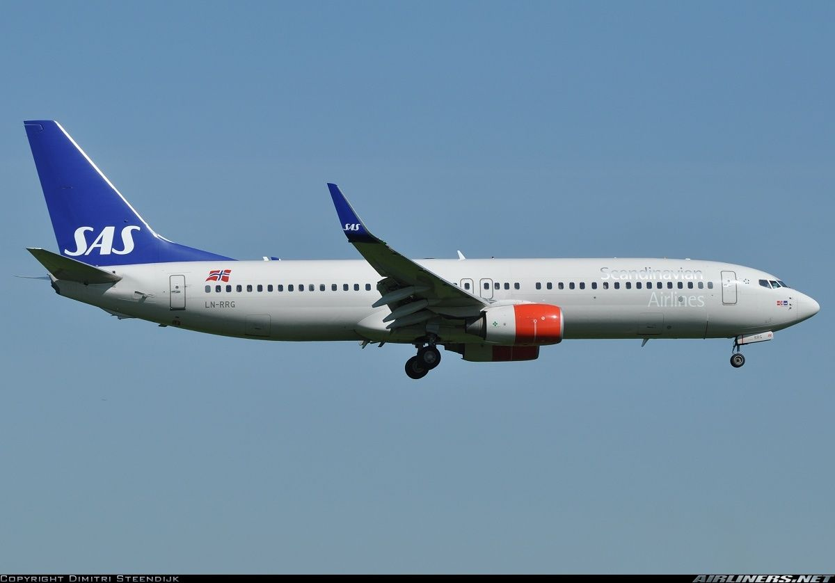 Scandinavian Airlines Sas Ln Rrg Boeing 737 85p Aircraft Picture Aviacao Comercial