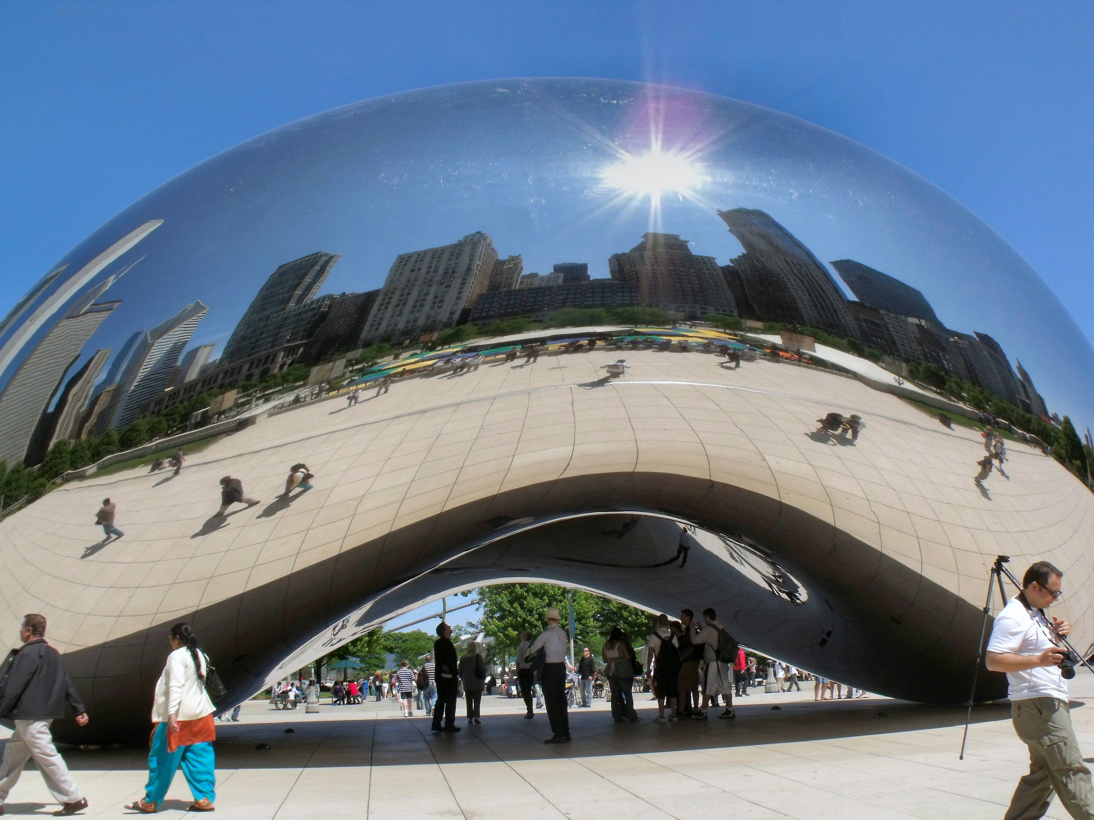 The Bean, Millenium Park, Chicago, June 2009