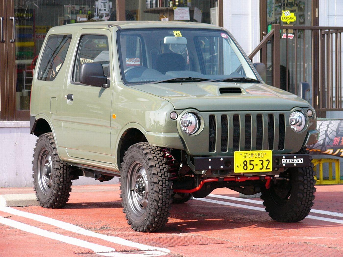 Suzuki 4x4 Jimny Samurai おしゃれまとめの人気アイデア Pinterest ǝuɐɥɐʞɐ ɐɯnzɐʞ ジムニー スズキ ジムニー ジムニー Jb23