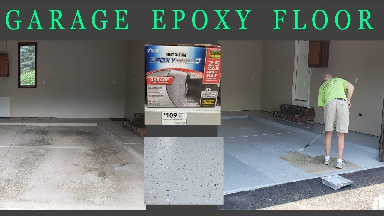 Garage Epoxy Floor My experience with installing an epoxy
