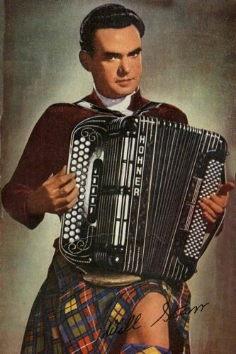 Will Starr - Scotland's best virtuoso accordion player of