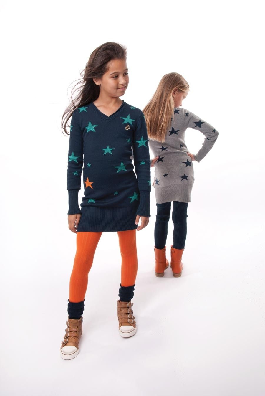 Hippe Kinderkleding.Dress Like Flo Gebreide Tuniek Jackie Kids Department De Webshop
