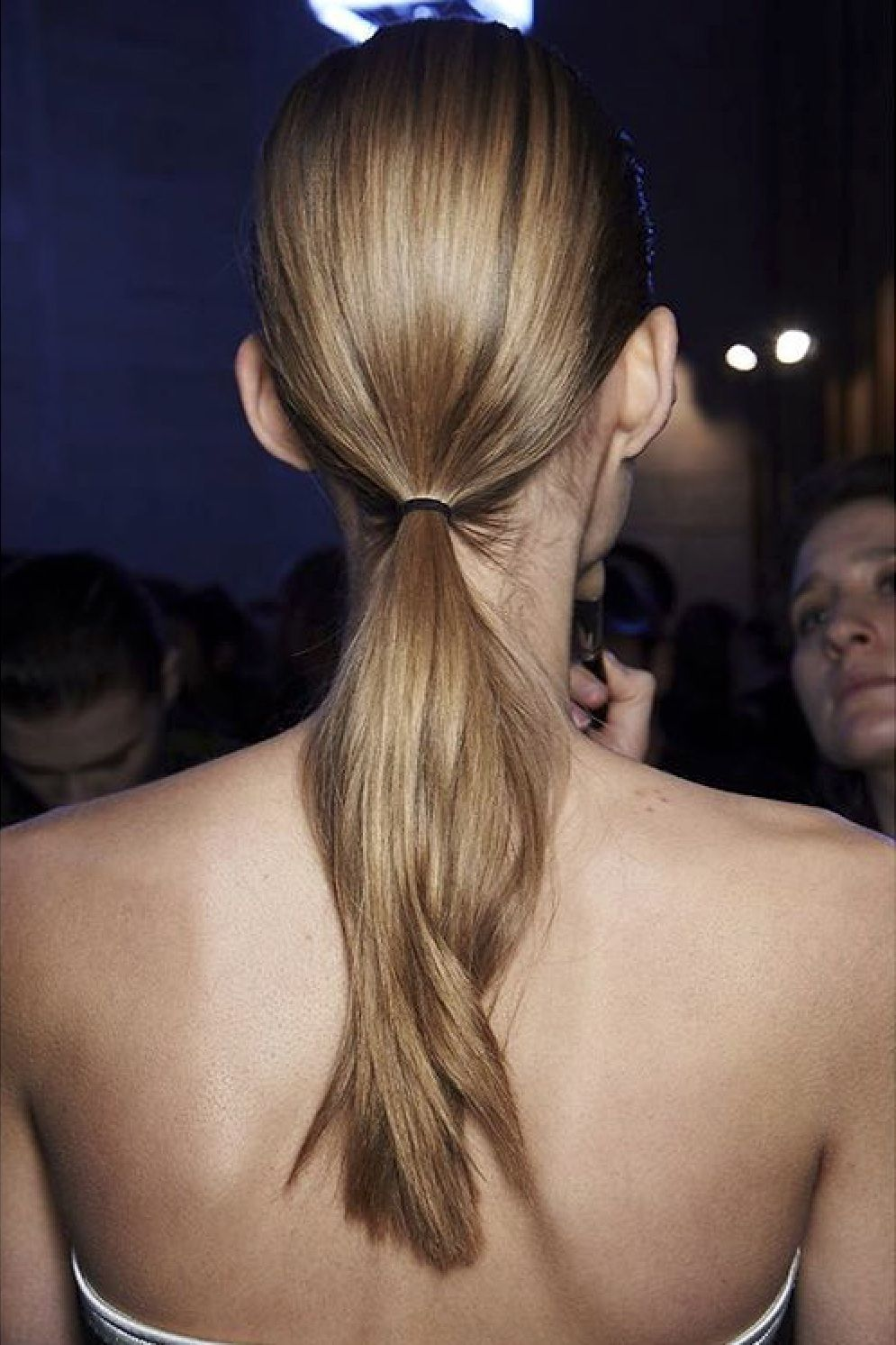 Nyfw fall all the pretty ponies pony ponytail and hair makeup