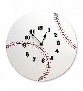Baseball Clock 2195