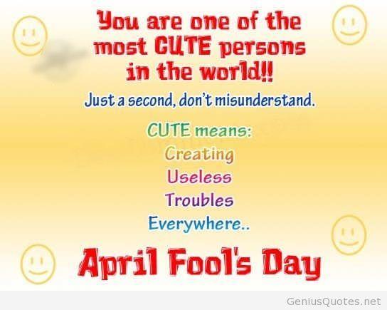 April Fools Day 2014 Quotes April Fool Quotes April Fools April Fools Day
