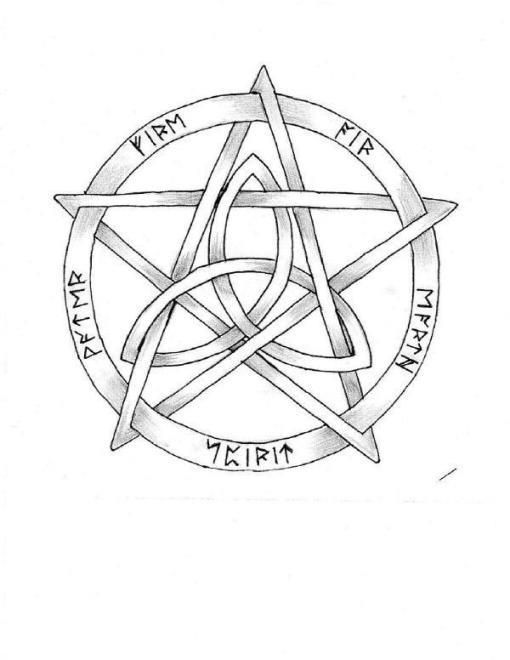 I Love The Pentacle Triquetra For A Tattoo Idea Dirt Worshippin