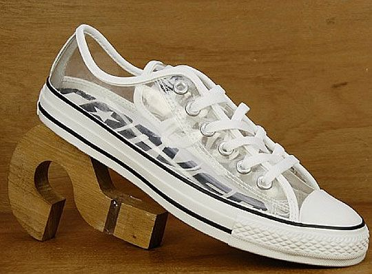 Clear shoes, Converse all star ox