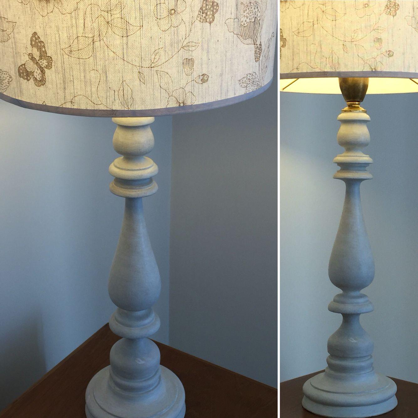 Sencillez - lámparas de mesa tornearas y patinadas by Provenza