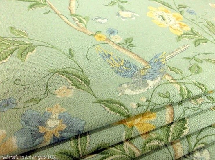 Roman Blind Laura Ashley Summer Palace fabric