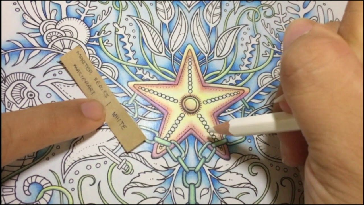 Lost Ocean By Johanna Basford Color Along Part 4 Youtube Lost Ocean Coloring Books Basford