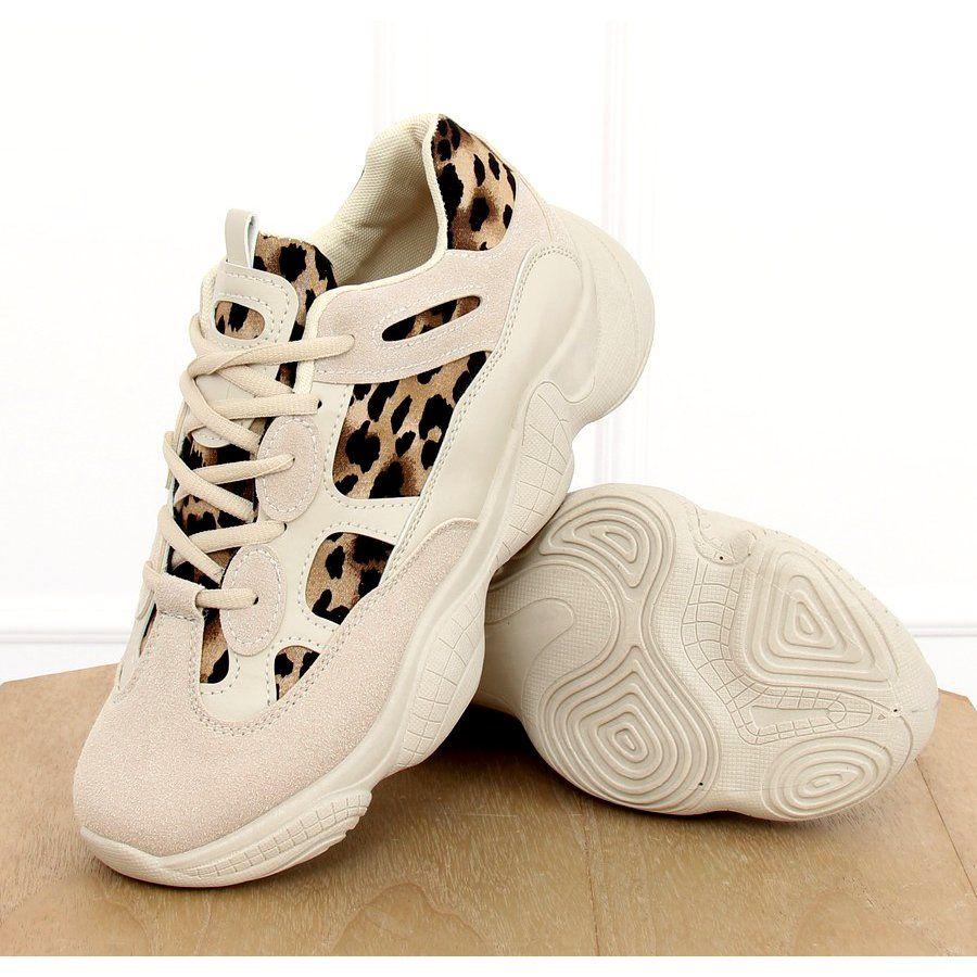 Sportowe Damskie Butymodne Brazowe Buty Sportowe Bezowe M 020 Leopard Winter Shoes Shoes Baby Shoes
