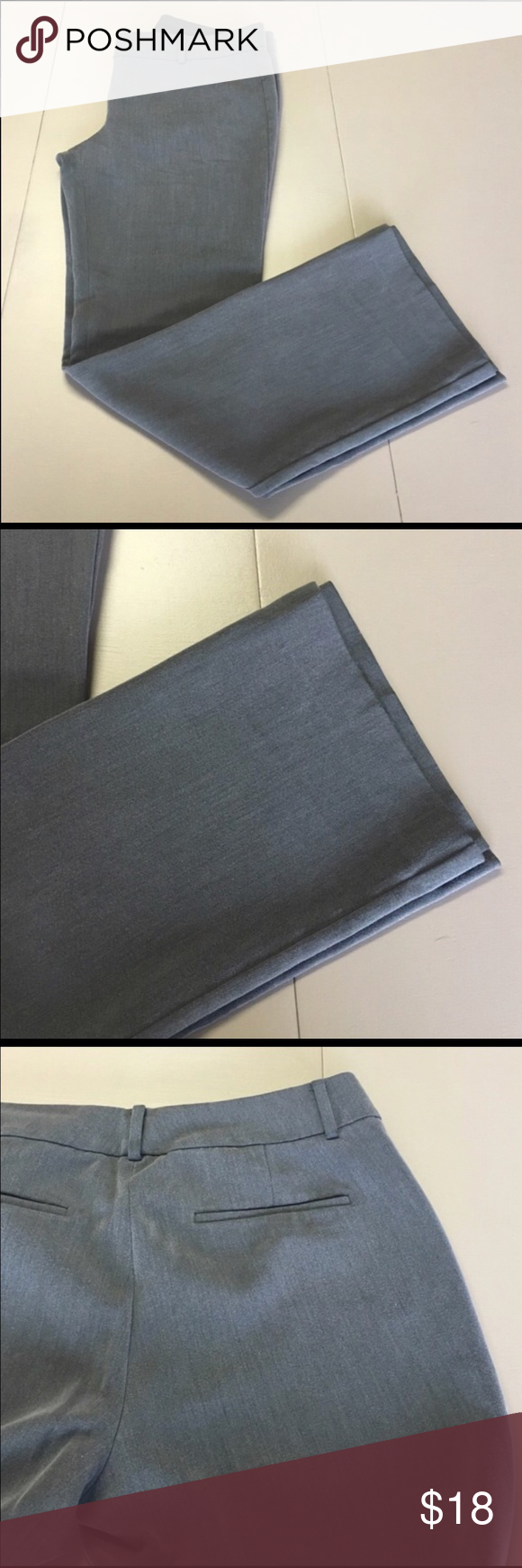8406b1e2f2883f Ann Taylor Gray pants Size 12 Great condition gray pants, size 12. Straight  leg. *reposh- didn't quite fit :( Bundles and reasonable offers are  encouraged ...