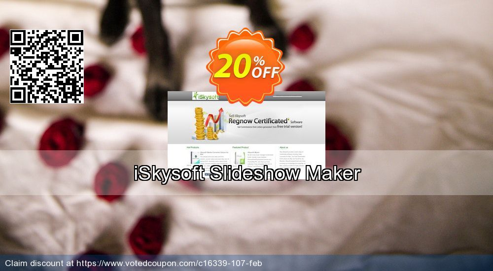 iSkysoft Slideshow Maker Coupon 20% discount code, Labor Day