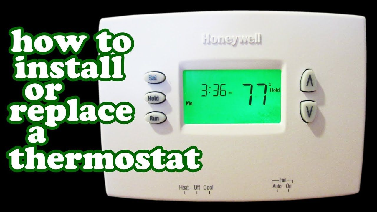 Honeywell Thermostat Wiring Wire Programmable Thermostats Heater Air Conditioner Hvac Furnace Youtube Thermostat Wiring Honeywell Thermostats Thermostat