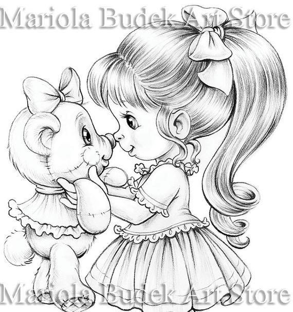 Best Friends Mariola Budek Coloring Page Dibujos Para Hacer