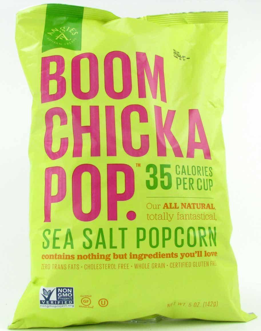 Boom Chicka Pop Popcorn Sea Salt 5 oz